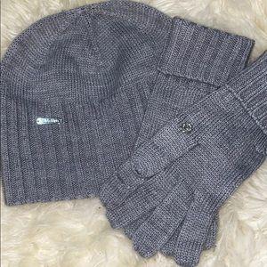 Calvin Klein Hat and Glove set